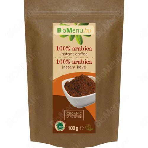 Image of 100 % Arabica instant bio kávé 100 g - Bio Menü