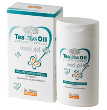 Teafaolajos intim mosakodó gél 200 ml - dr. Müller