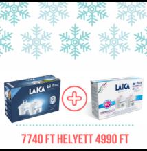 Bi-Flux LAICA magnesiumactive vízszűrőbetét 2 db-os + univerzális vízszűrőbetét 2 db-os