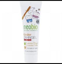 Fogkrém gyerekeknek fluoridmentes bio almával és papayával 50 ml - Neobio