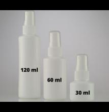 Pumpás (szórófejes) flakon 60 ml