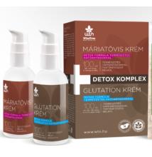 Detox komplex (Máriatövis krém 100 ml+Glutation krém 100 ml) - Wise Tree Naturals