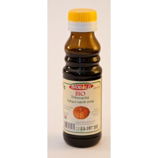 Tökmagolaj hidegen sajtolt bio 100 ml - Biogold