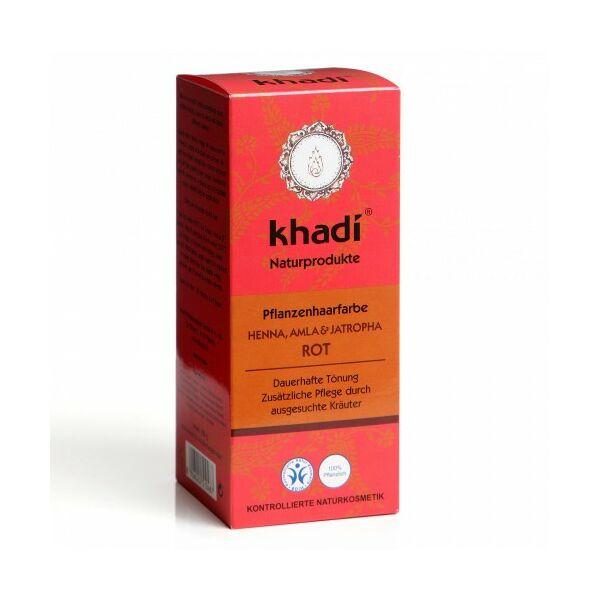 Hajfesték por vörös 100 g - Khadi