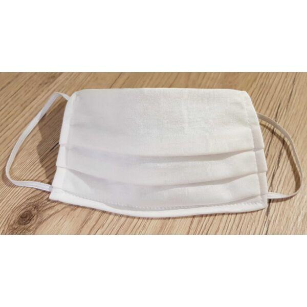 Textil szájmaszk (fehér)