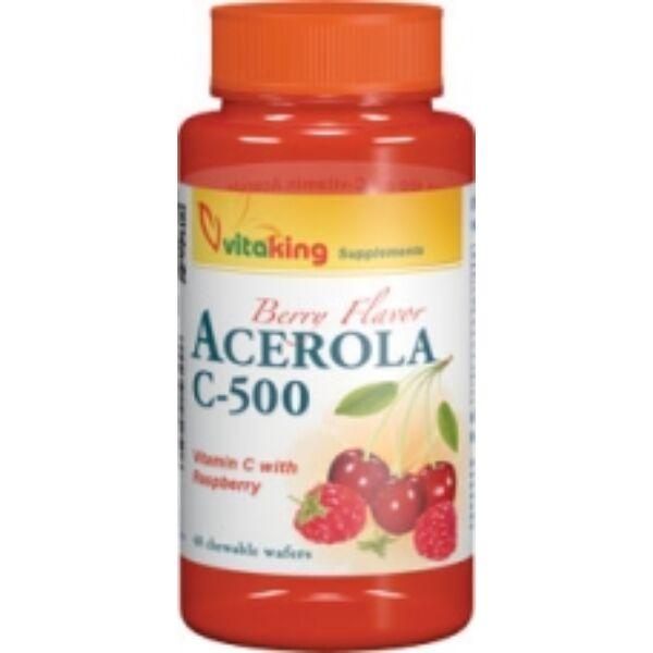 C-500 acerola rágótabletta 40 db - Vitaking