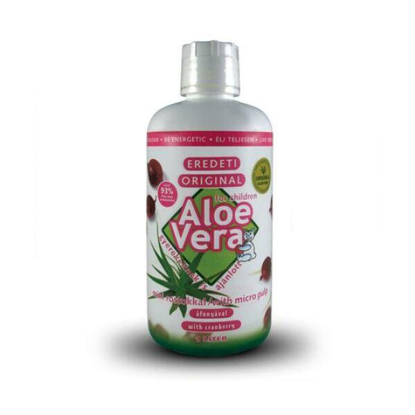 Aloe Vera eredeti ital áfonyás1 liter - Alveola