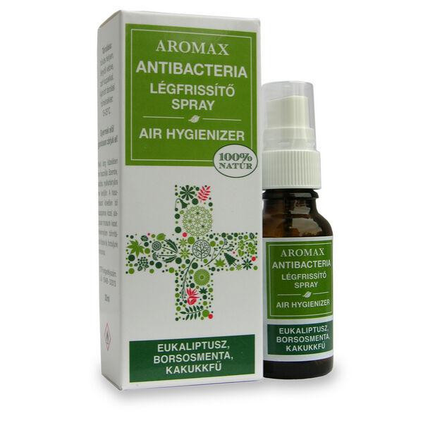 Antibacteria légfrissítő spray Eukaliptusz-Borsosmenta-Kakukkfű - Aromax