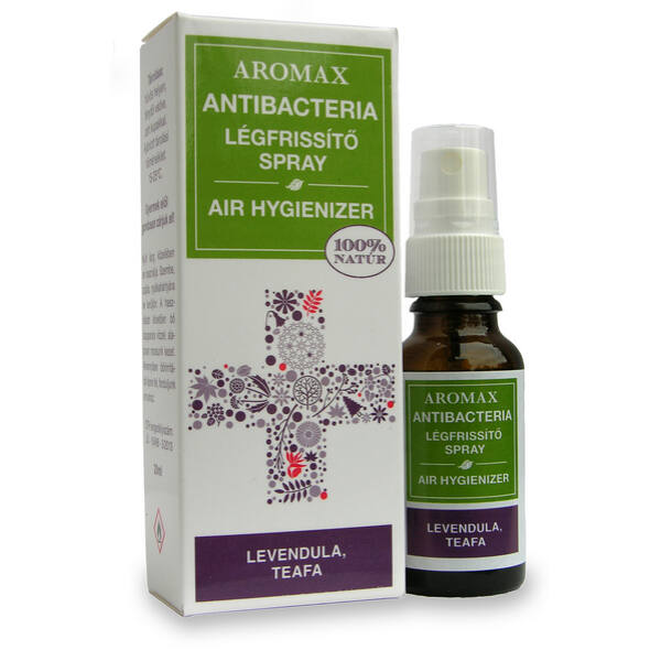Antibacteria légfrissítő spray Levendula-Teafa - Aromax