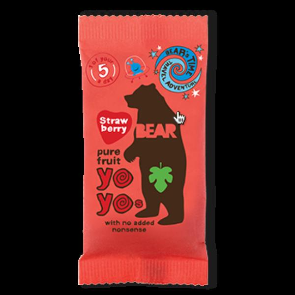 Bear yoyo epres természetes gyümölcs tekercs 20 g
