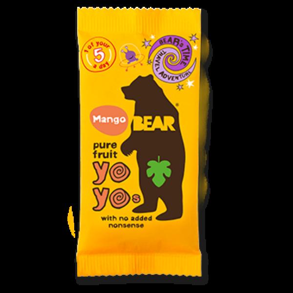 Bear yoyo mangós természetes gyümölcs tekercs 20 g
