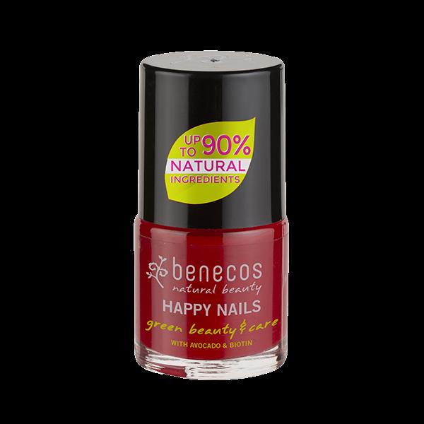 Körömlakk vintage red 9 ml - benecos
