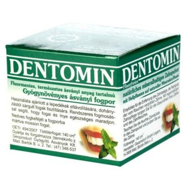 Fogpor gyógynövényes 95 g - Dentomin