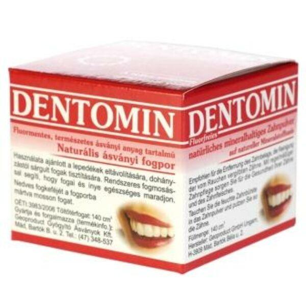Fogpor natúr 95 g - Dentomin