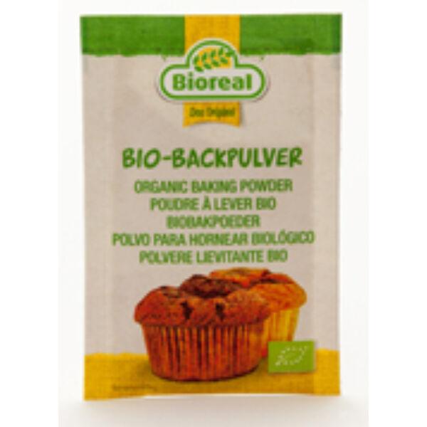 Sütőpor, foszfátmentes bio 3*10 g - Bioreal