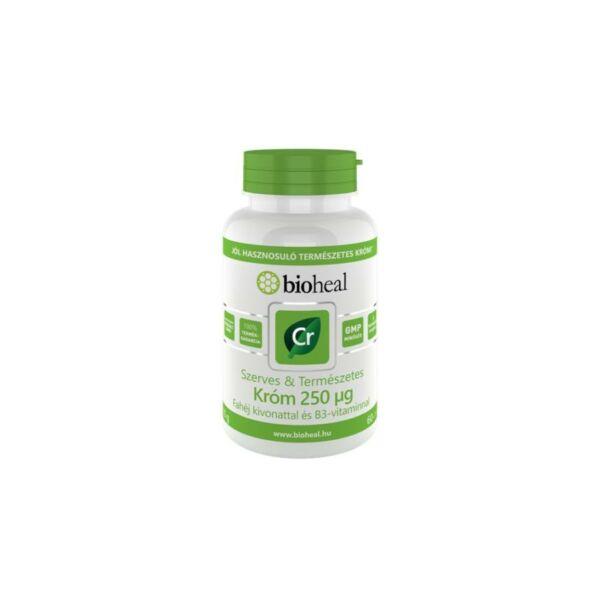 Bioheal Szerves&Természetes Króm 250 µg (70 db filmtabletta)