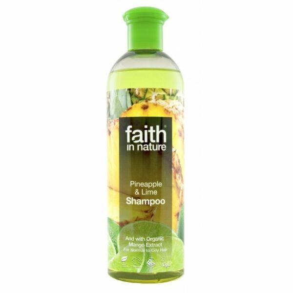 Ananász és lime sampon - Faith in Nature (400ml)