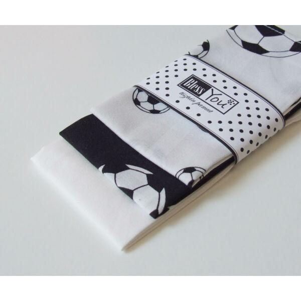 Textil zsebkendő M méret focis 3 db-os - Bless You