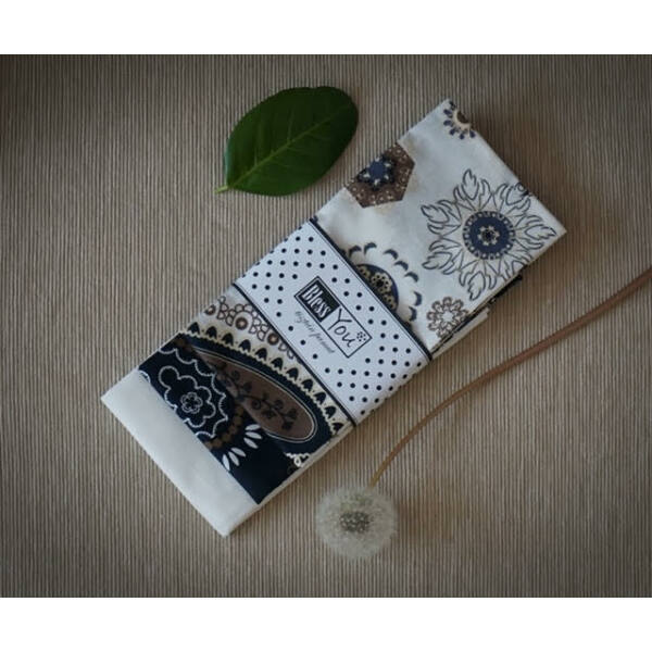 Textil zsebkendő L méret török indák 3 db-os - Bless You