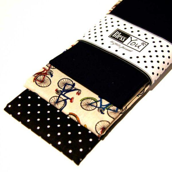 Textil zsebkendő férfiaknak bringás 3 db-os - Bless You
