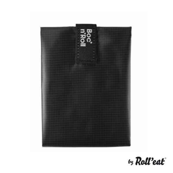 Boc`n`Roll Square szénfekete szendvics csomagoló