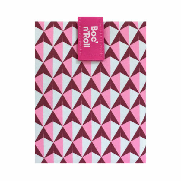 Boc`n`Roll DíszCsempe Pink szendvicscsomagoló