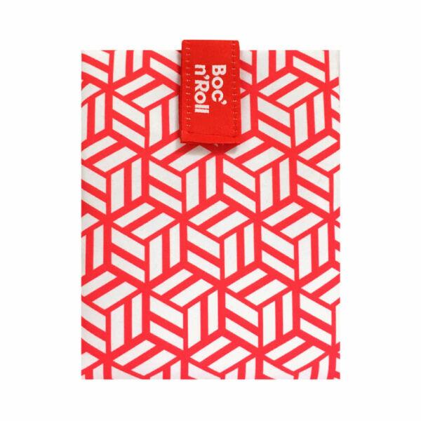 Boc`n`Roll DíszCsempe Piros szendvicscsomagoló