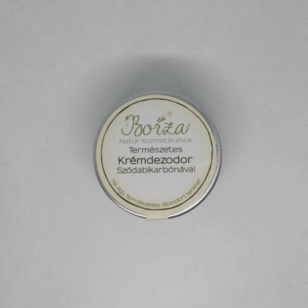 Krémdezodor szódabikarbónával illatmentes 45 ml - Borza