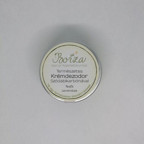 Krémdezodor szódabikarbónával teafa-levendula 45 ml - Borza