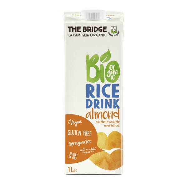Rizs ital mandulás bio 1 liter - The Bridge