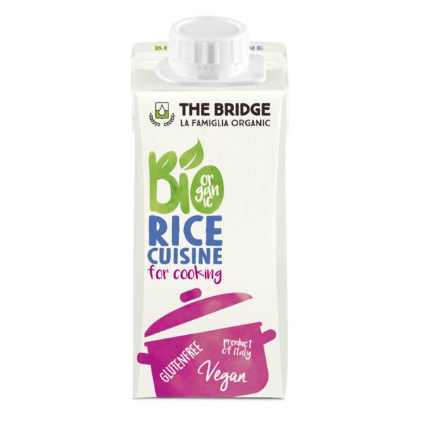 Rizs tejszín bio 200 ml - The Bridge