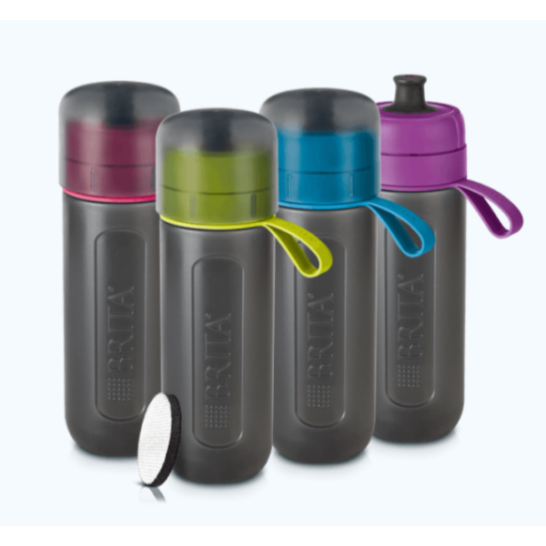 BRITA Fill&GO Active lime vízszűrő palack