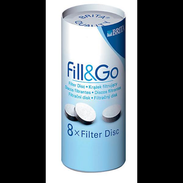 Brita szűrő korong régi Fill & Go kulacsokhoz 8db