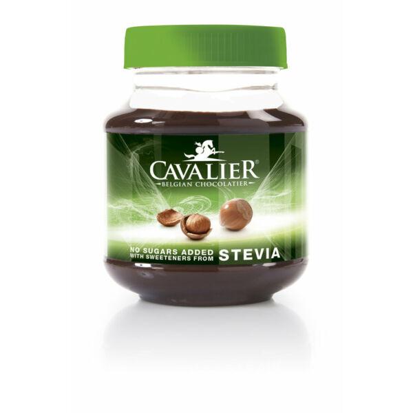 Mogyorókrém tejcsokoládéval és steviával 380 g - Cavalier