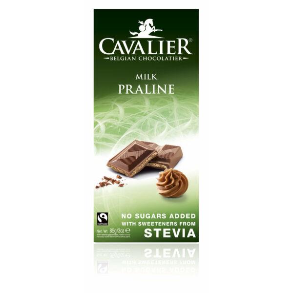 Tejcsokoládé mogyorókrémmel pralinés 85 g - Cavalier