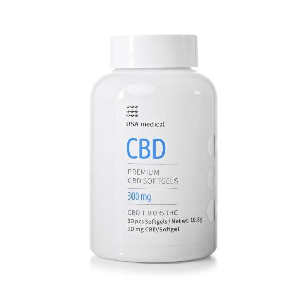 CBD kapszula 300 mg (30 db) - USA medical