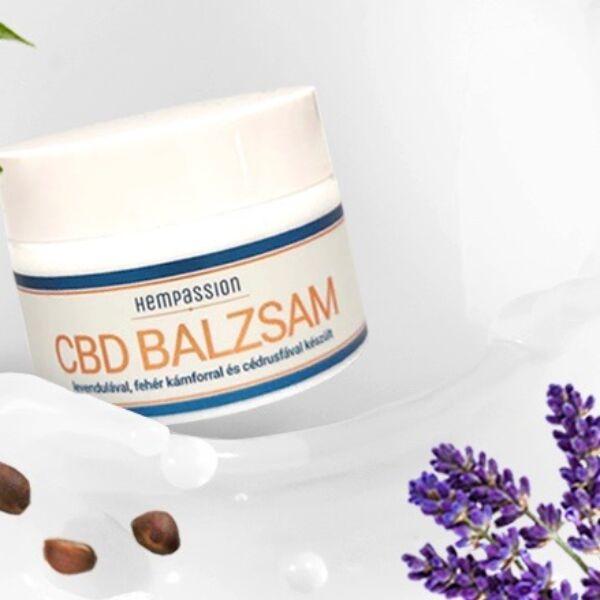 CBD Balzsam 250 mg / 50 ml - Hempassion