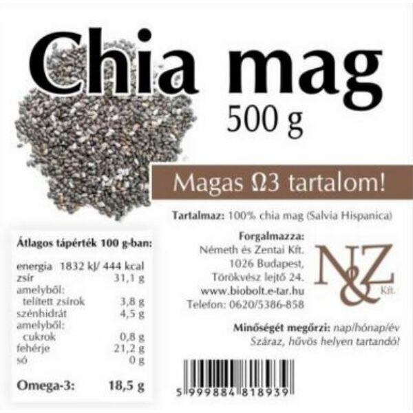 Chia mag 500 g - Németh és Zentai