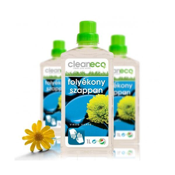 Folyékony szappan virágillatú 1 l - cleaneco