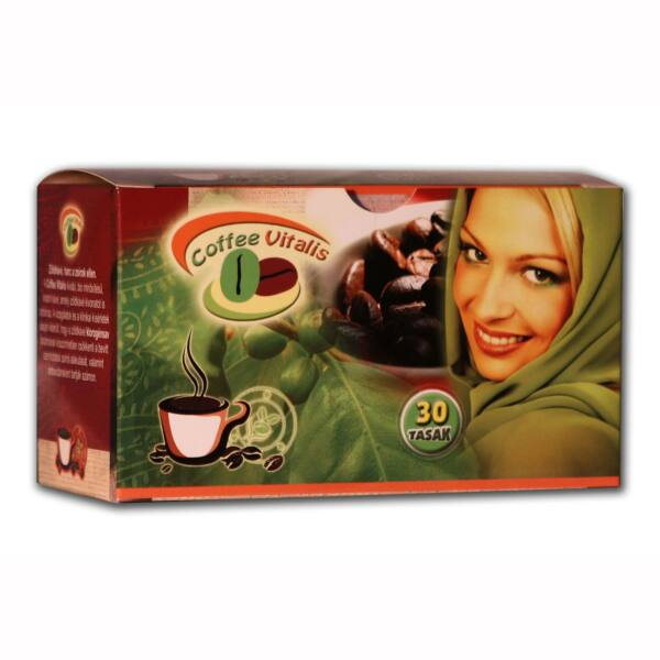 Instant kávé zöldkávé kivonattal Coffee Vitalis