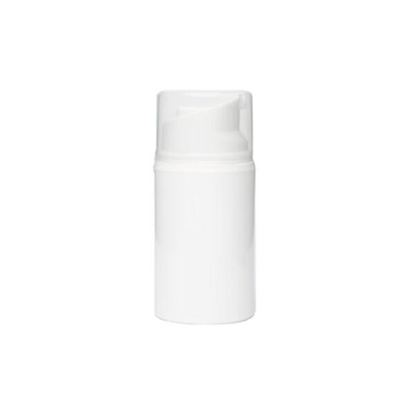 Airless krémadagoló fehér széles 50 ml