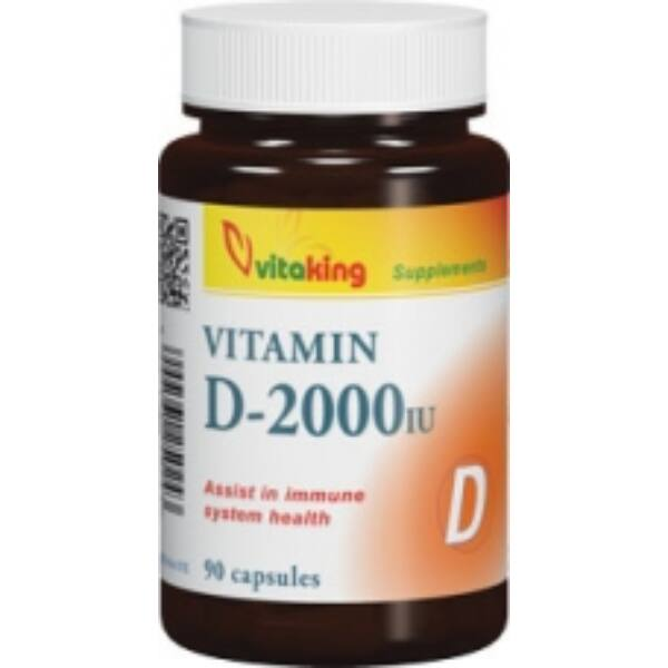 D-2000 vitamin 90 db - Vitaking