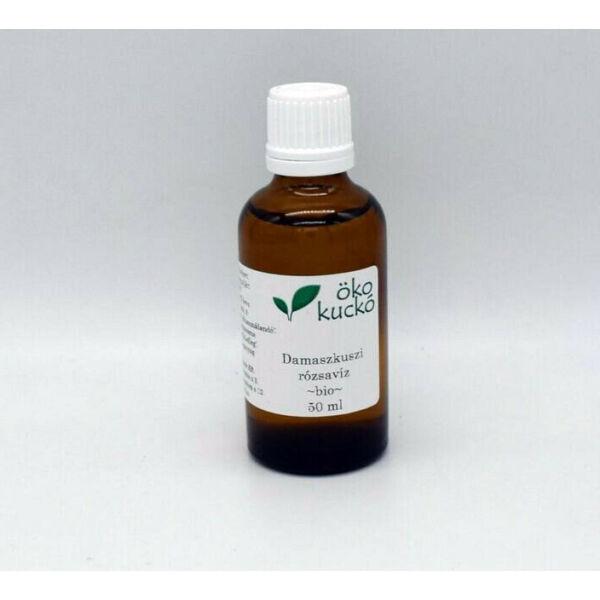 Damaszkuszi rózsa virágvíz (hidrolátum) bio 50 ml - Ökokuckó