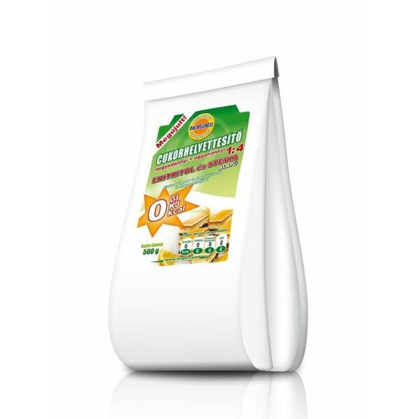 Cukorhelyettesítő 1:4 500 g - Dia-Wellness