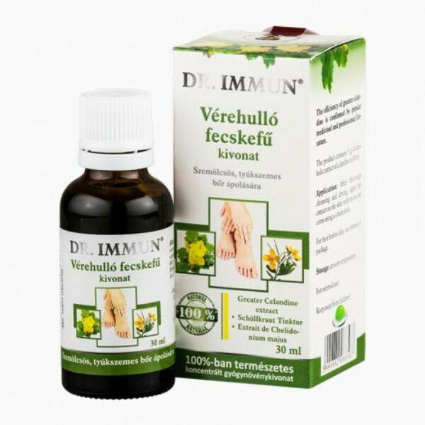 Vérehulló fecskefű kivonat 30 ml - Dr. Immun