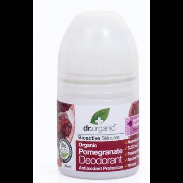 Golyós dezodor bio gránátalmával 50 ml - Dr. Organic