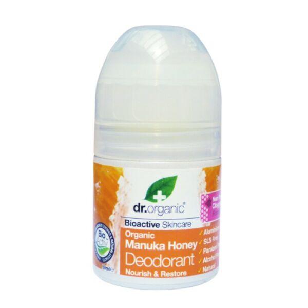 Golyós dezodor bio manuka mézes 50 ml - Dr. Organic