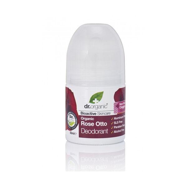 Golyós dezodor bio rózsával 50 ml - Dr. Organic