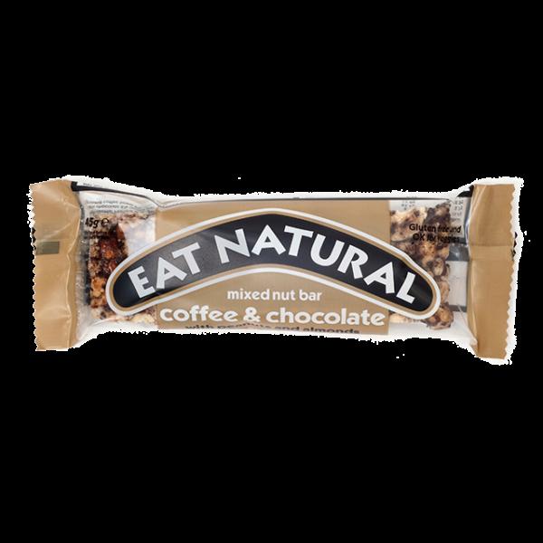 Gluténmentes müzliszelet kávé-csokoládé (coffee-chocolate) 50 g - Eat Natural