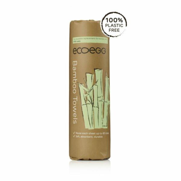 ECOEGG bambusz törlőkendő 20 db
